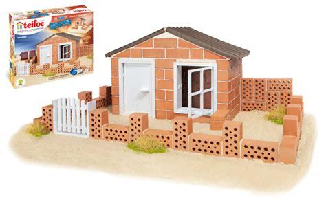 jeux de maison a construire teifoc jeux de construction en briques et ciment soluble cadeau kid