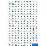 Icons Sheet Switch Pikachu Let Eevee Spriters