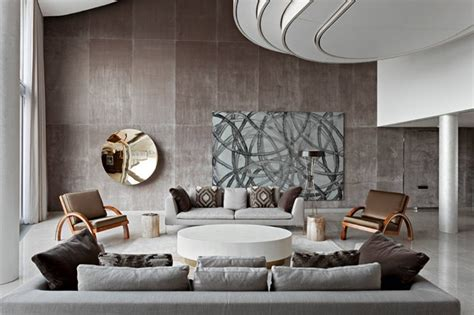gorgeous brown  gray living room designs home design lover