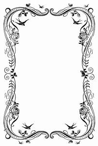 Fancy Page Border - ClipArt Best