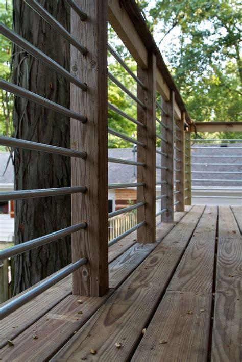 steel deck handrails diy stair rail with conduit recherche furniture