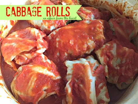 cabbage rolls in oven stuffed cabbage rolls an affair from the heart