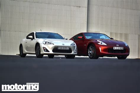 twin test toyota   nissan  motoring middle east