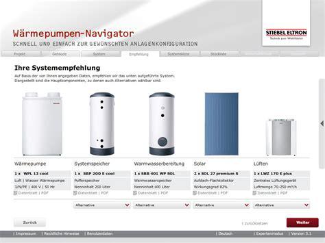 Waermepumpen Navigator w 228 rmepumpen navigator mbc app und softwareentwicklung