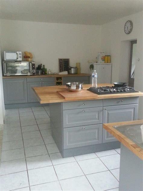 Cuisine Ikea Grise Ma Maison Cuisine Ikea Gris Bois Cuisine En 2019 Kitchen Cabinets Home Decor Et House