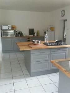 Ikea Cuisine Blanche : ma maison cuisine ikea gris bois cuisine en 2019 kitchen cabinets home decor et house ~ Melissatoandfro.com Idées de Décoration