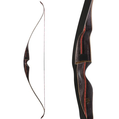 bear super grizzly  piece traditional recurve bow