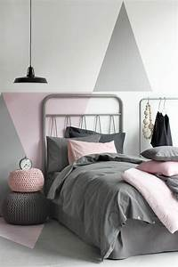 44 super idees pour la chambre de fille ado With decoration murale chambre ado