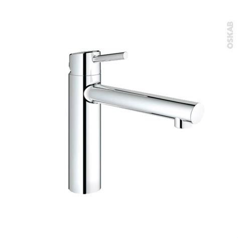 grohe concetto cuisine robinet concetto mitigeur cuisine chromé grohe oskab