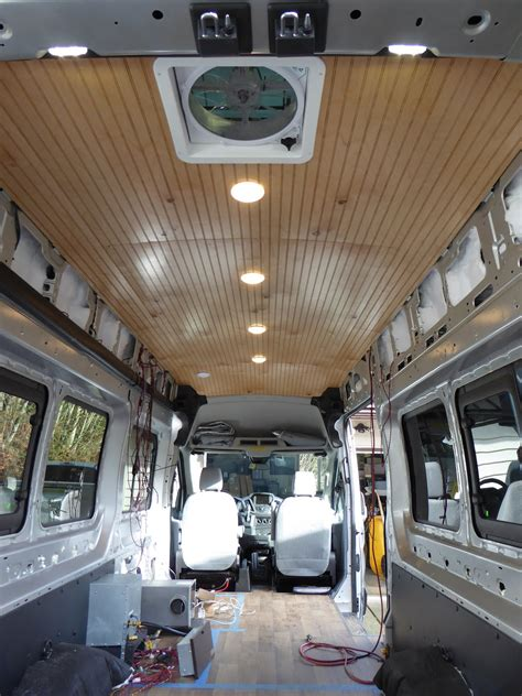 building annie  campervan conversion page  ford