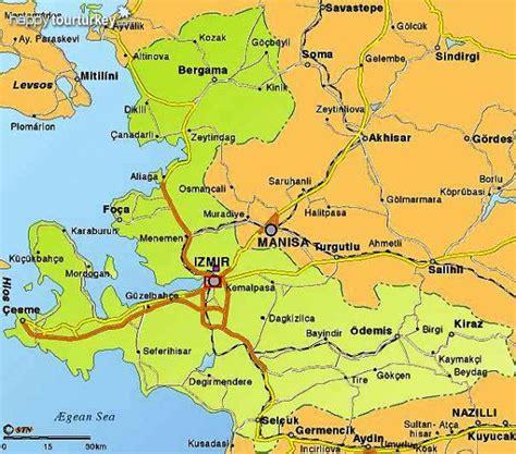 kusadası map ephesus turkey map ephesus map izmir map