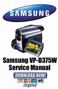 Samsung Vp-d375w Service Manual  U0026 Repair Guide