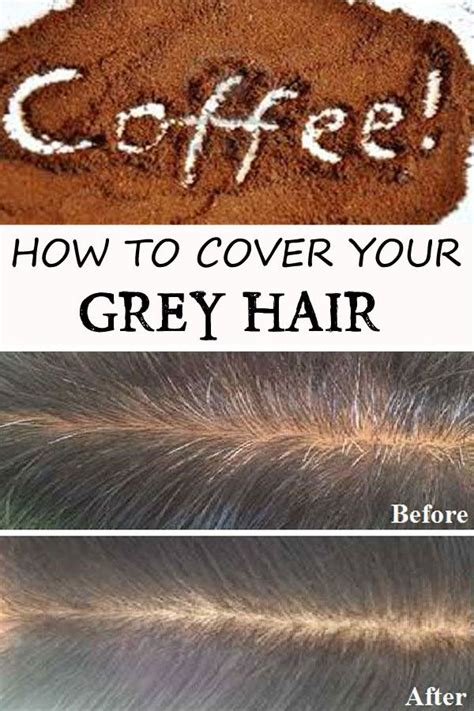 I have been on the search for an all natural hair dye so when i heard that coffee is used to darken/dye gray hair, i had to give it a try. How to cover your grey hair using coffee   Gray hair ...