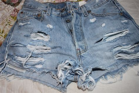 DIY Nasty Gal Inspired Cut-off Shorts - Natalia Ambrosia