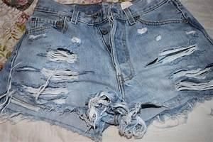 DIY Nasty Gal Inspired Cut-off Shorts - Natalia Ambrosia