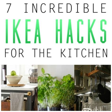 Kitchen Garden Hacks by Ikea Hacks For Your Kitchen Home And Garden