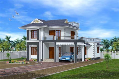 3d Exterior Design Kerala House
