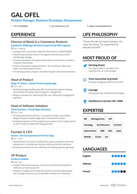 Make New Resume by A Powerful One Page Resume Exle You Can Use