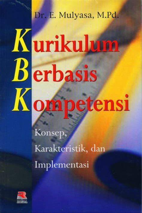 Buku Kurikulum Berbasis Kompetensi | Toko Buku Online