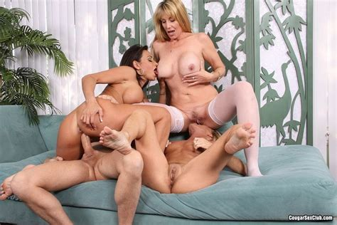 Busty Milf Olivia Parrish Sharing Dick In Groupsex Pichunter