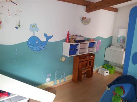 chambre bébé garçon awesome peinture enfant chambre garcon ideas seiunkel us