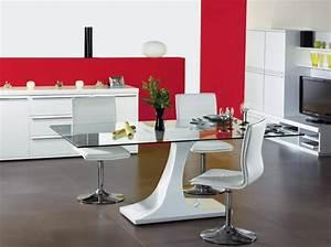 Chaise de salle a manger fly finest buffet cuisine fly for Deco cuisine avec chaise de salle a manger en cuir noir