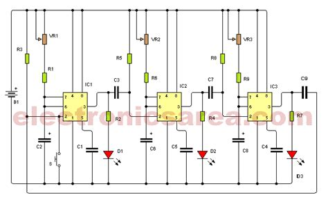 time delay circuit using triac and 555 timer electronics