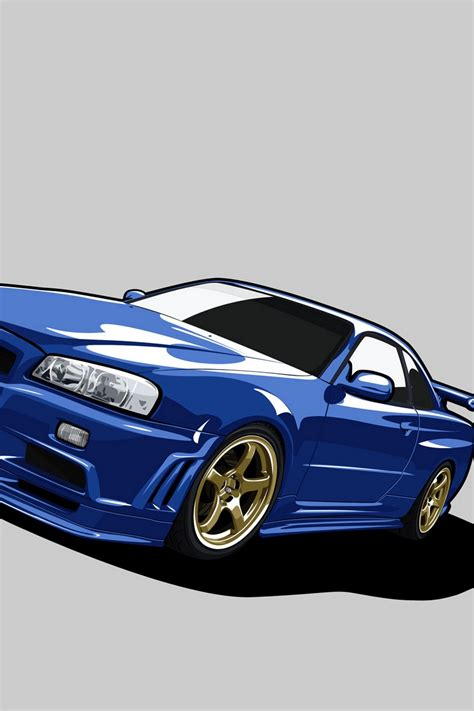 Skyline Gtr Wallpaper Iphone X by Wallpaper 800x1200 Nissan Skyline Gt R R34