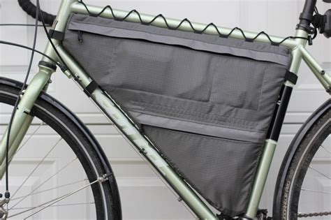 customer project full  partial bike frame bags