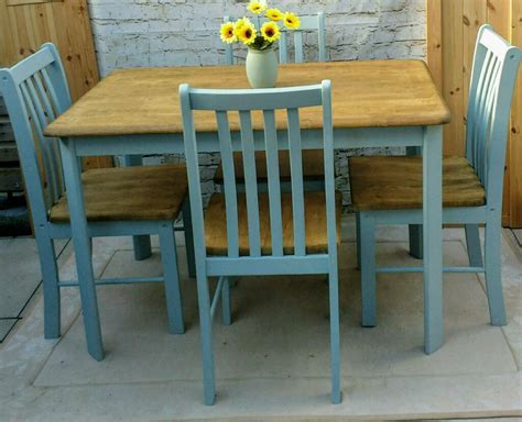 shabby kitchen table farmhouse shabby chic kitchen dining table and 4 chairs