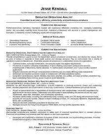 career objective resume financial analyst best financial analyst resume exle recentresumes