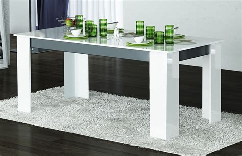 chaise salle a manger blanche emejing table a manger blanche gallery lalawgroup us
