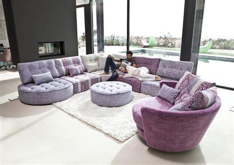acheter canapé d angle acheter votre canapé d 39 angle contemporain lignes arrondies