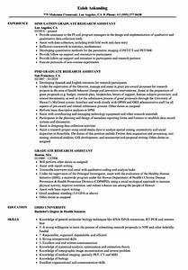 famous graduate assistant resume sample mold example With sample resume for graduate assistant position