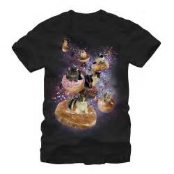 space cat shirt lost gods s space cat doughnut race t shirt