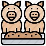 Premium Feed Animal Icon Icons