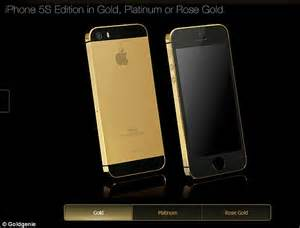 Gold Iphone 5s Sells For ,000 On Ebay