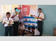 SMP Juara Pekanbaru Lauching Program Pojok Baca