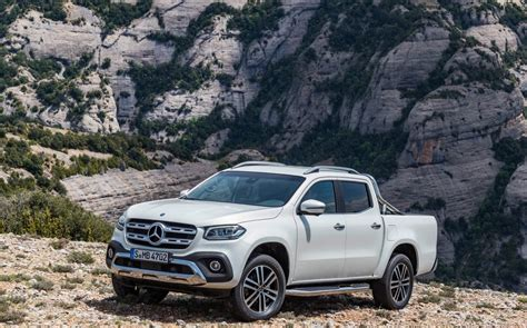 Mercedes-benz X-class Ute Unveiled, 190kw V6 Flagship