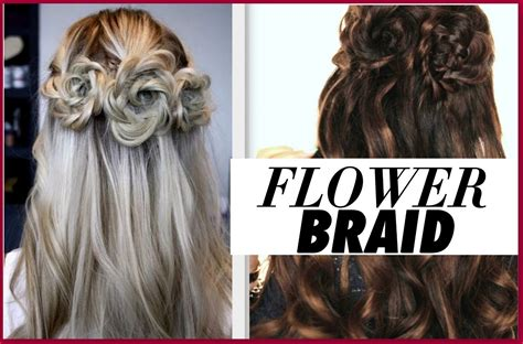 ★flower Braid Hair Tutorial