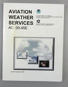1999 Aviation Weather Services Ac 00