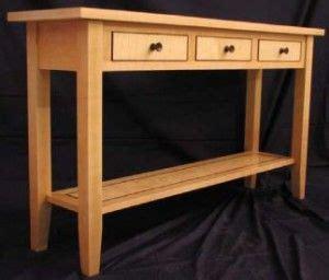 sofa table plans woodwork city  sofa table