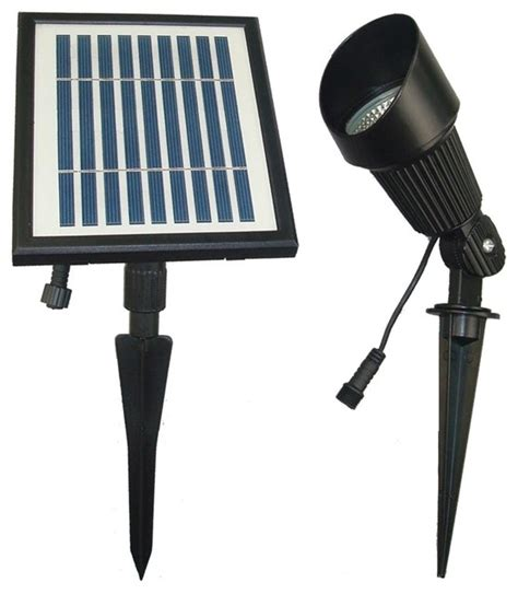 solar flag pole and spot light contemporary outdoor