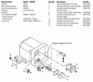 Suburban Water Heater Sw10de Wiring Diagram