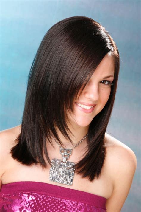 medium layered haircuts