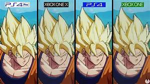 COMPARATIVA Dragon Ball FighterZ PS4 Vs Xbox One Vs PS4