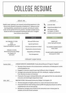 College Student Resume Sample  U0026 Writing Tips