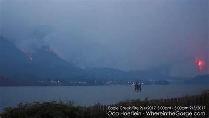 Oregon Portland Acre Cbs Wildfires Gorge Into