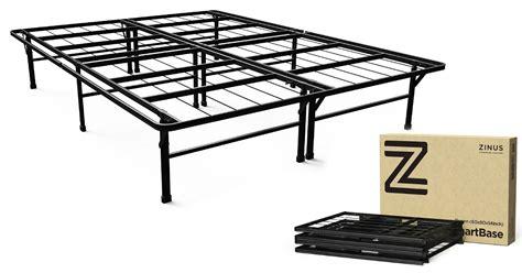 amazon zinus smartbase queen platform bed frame