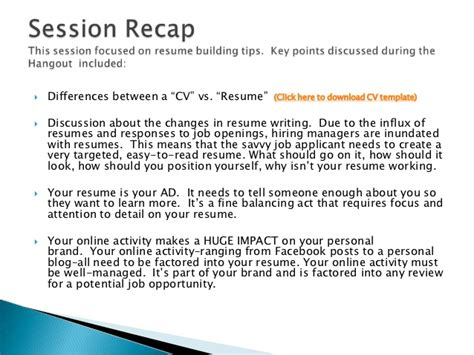 Ask The Headhunter Resume by Ask The Recruiter Resume Writing Tips